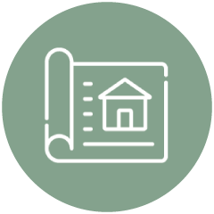 custom home design icon