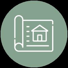 custom home design icon