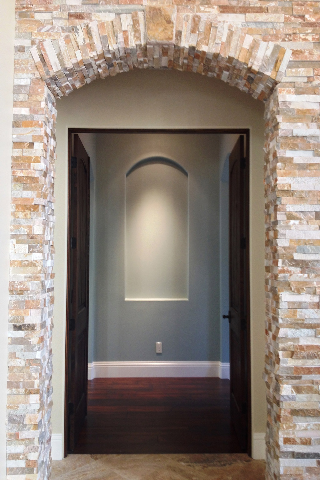 Exposed Brick Archway