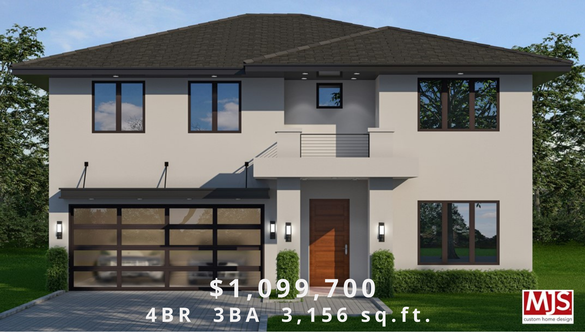 Rendering of Sanford Home Example