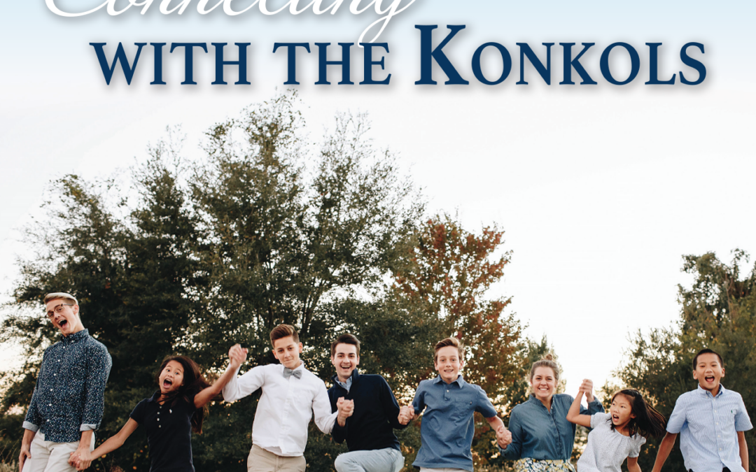 Connecting with the Konkols – Feature Article in the Maitland Neighbors Magazine